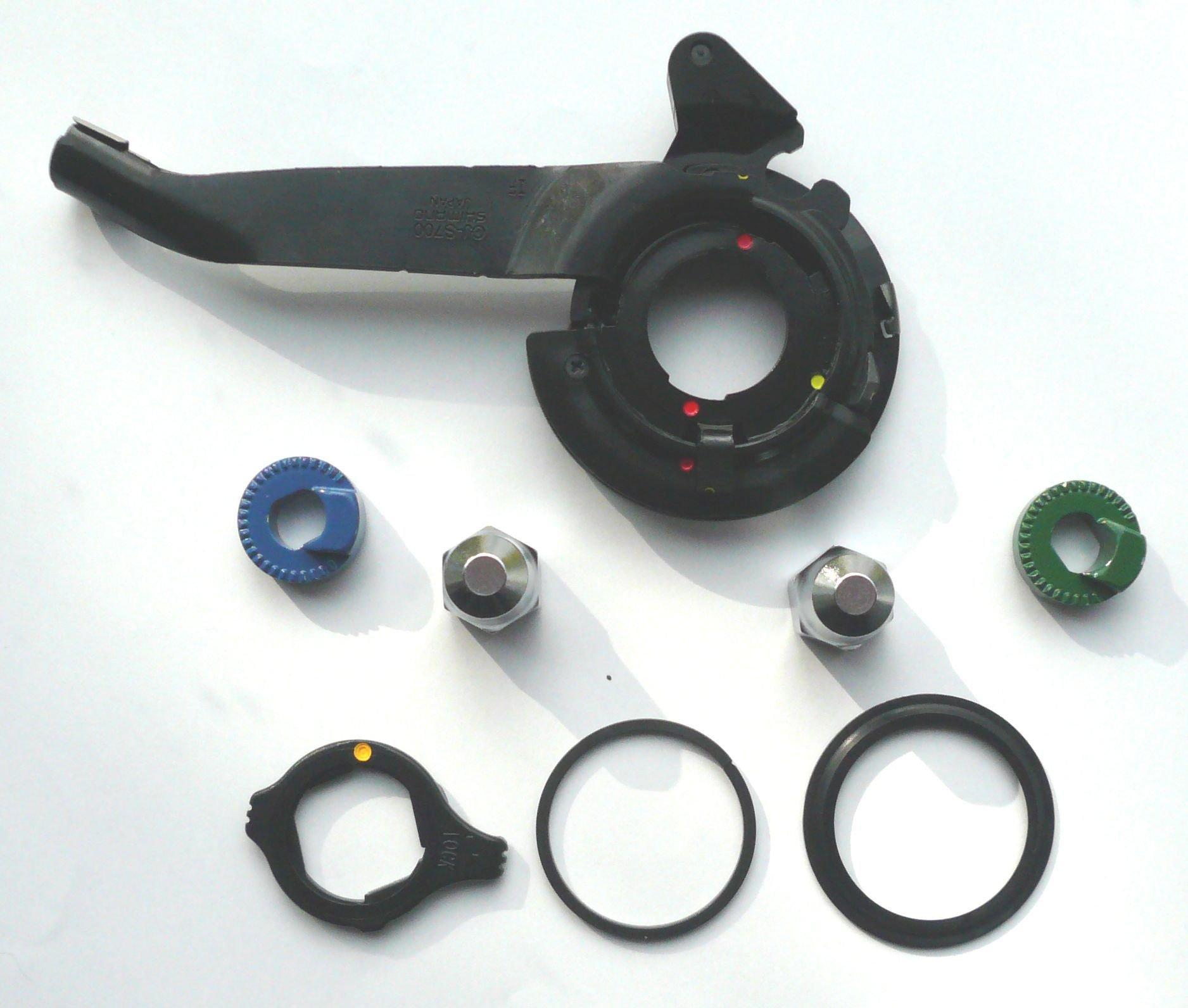 Image of Accessori mozzo Shimano SM-S700 Alfine nero