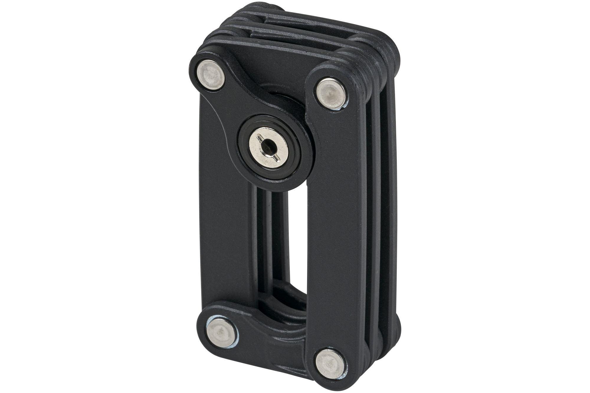 Blocco serratura pieghevole Fuxon blocco serratura pieghevole nero