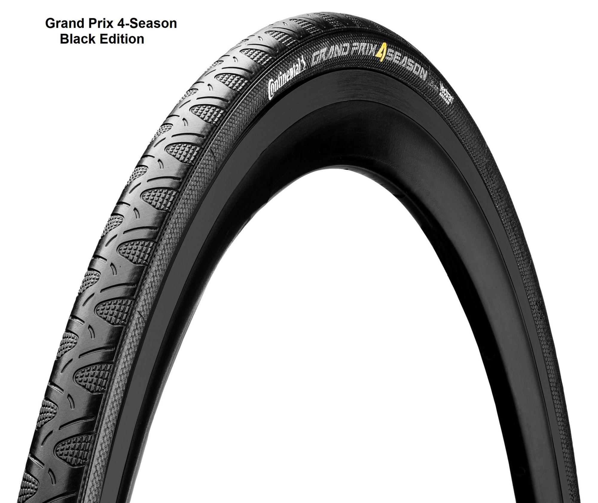 Continental Double Vectran Breaker - 28 pollici Grand Prix 4 Season Black Edition (23-622) nero nero