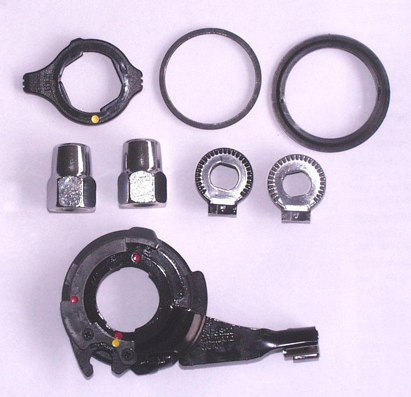 Image of Accessori mozzo Shimano SM-8S31 Nexus / Alfine nero