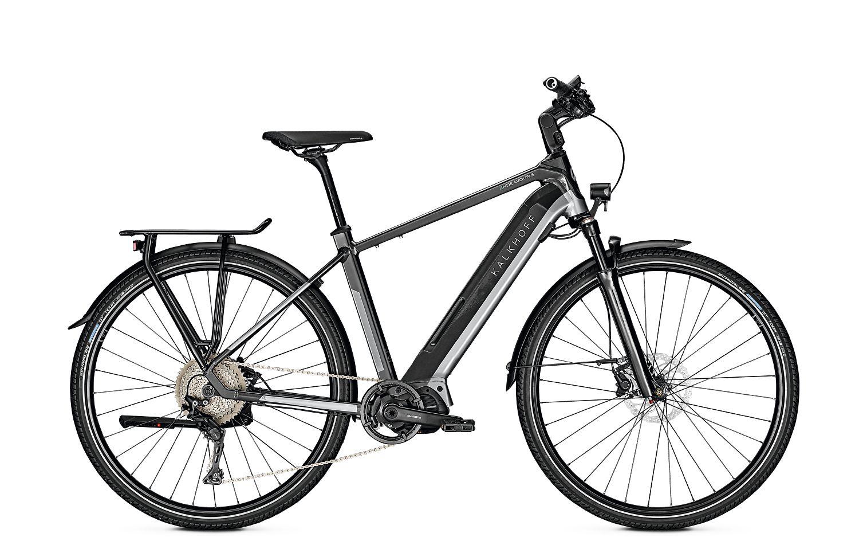 bici da uomo elettrica Kalkhoff ENDEAVOR 5.S MOVE (540 Wh) argento fumo - nero diamante lucido