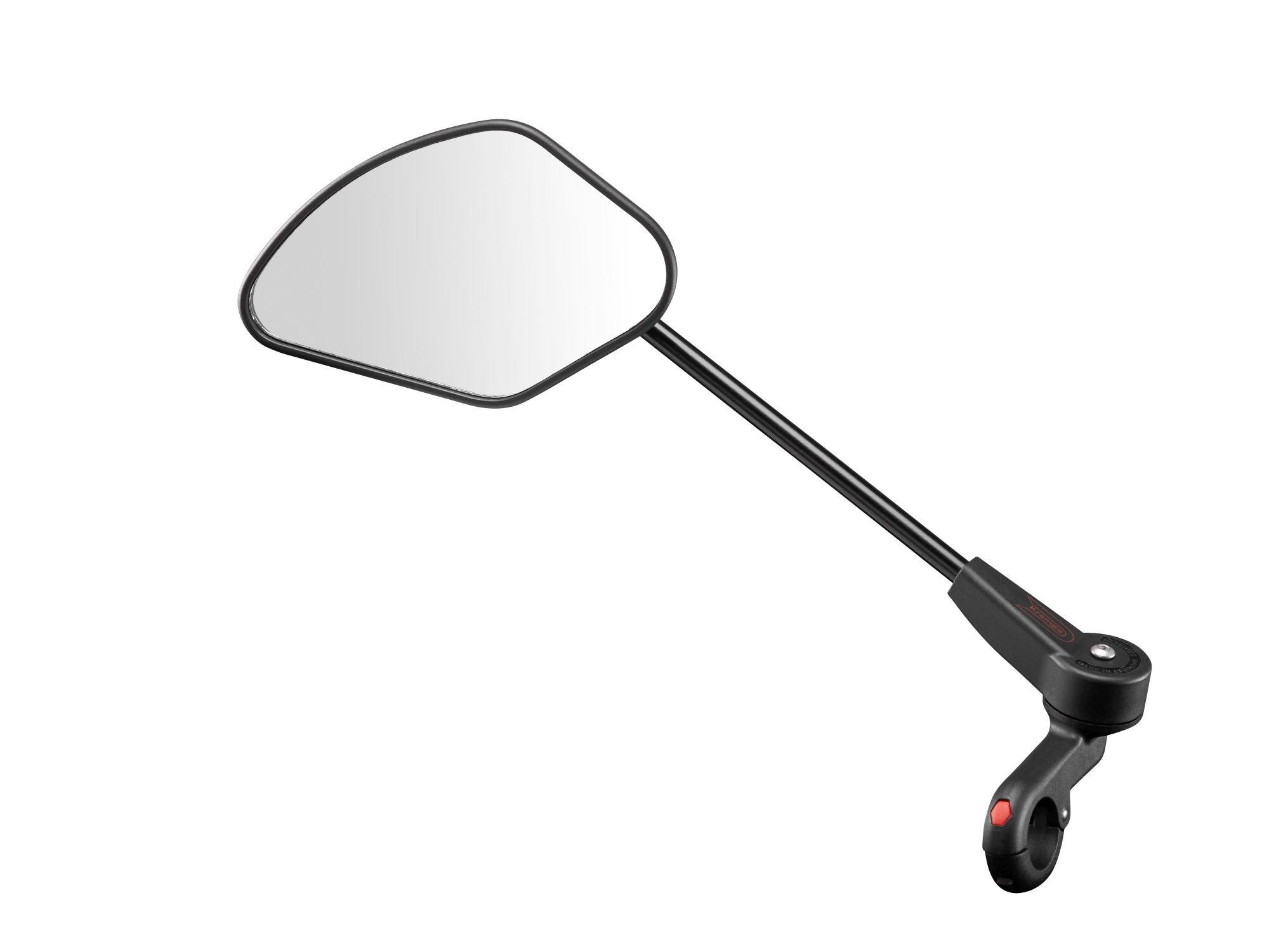 Specchio per bicicletta Krampe KF Sport pieghevole nero
