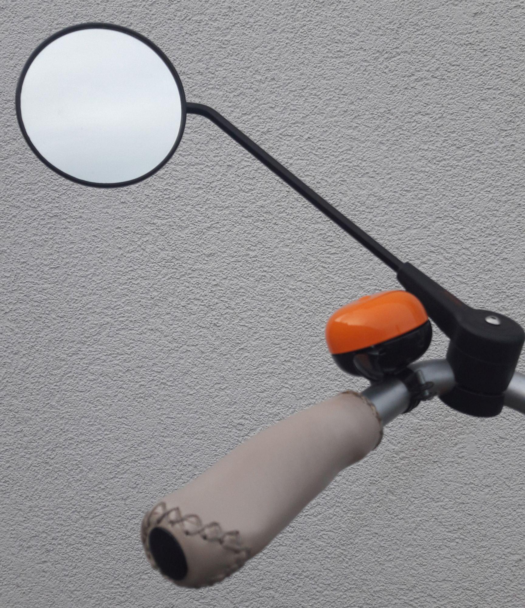 Specchio pieghevole per bicicletta Krampe KF1 35 nero