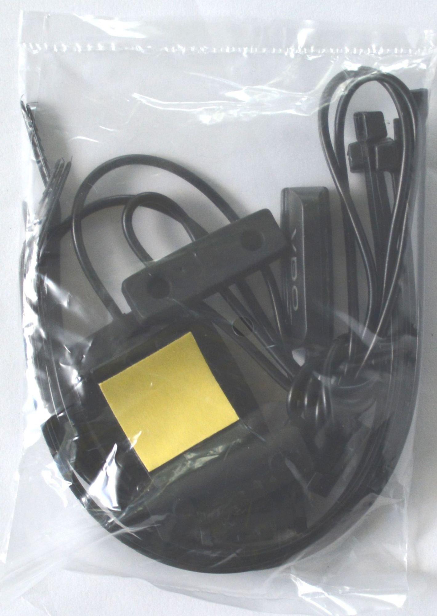 Image of Kit cavi VDO M per la 2a bici Kit cavo magnetico M per bici 2 nero